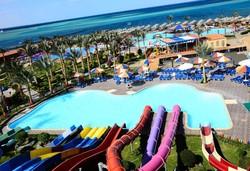 Самолетна почивка в Египет! 7 нощувки на човек на база All inclusive в Hawaii Riviera Aqua Park Resort 5*, Хургада, Червено Море с двупосочен чартърен полет от София - Снимка