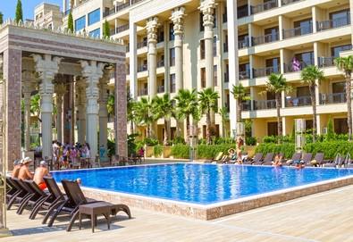 Морска почивка в Hotel Argisht Partez 4*, Златни пясъци! 1 нощувка на база All Inclusive, ползване на външен басейн с шезлонг, безплатно за деца до 5.99г. - Снимка