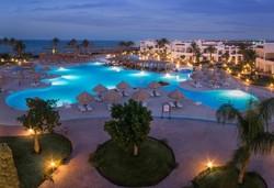 Самолетна почивка в Египет! 7 нощувки на човек на база All inclusive в Grand Seas Resort Hostmark 4*, Хургада, Червено Море с двупосочен чартърен полет от София - Снимка