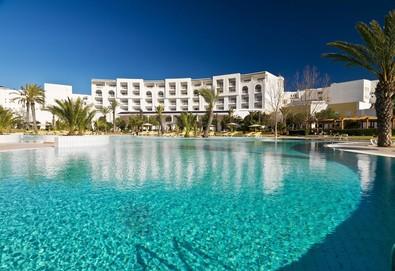 Самолетна почивка в Тунис! 7 нощувки на човек на база All inclusive,Закуска и вечеря в Saphir Palace & Spa 5*, Хамамет, Североизточен Тунис с двупосочен чартърен полет от София - Снимка