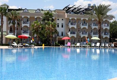 Самолетна почивка в Турция! 7 нощувки на човек на база All inclusive в Anita Club Fontana Life 4*, Кемер, Турска ривиера с двупосочен чартърен полет от София - Снимка