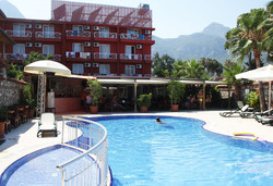 Самолетна почивка в Турция! 7 нощувки на човек на база All inclusive в Anita Venus Beach Hotel 4*, Кемер, Турска ривиера с двупосочен чартърен полет от София - Снимка