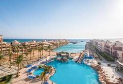 Самолетна почивка в Египет! 7 нощувки на човек на база All inclusive в Sunny Days El Palacio Resort & Spa 4*, Хургада, Червено Море с двупосочен чартърен полет от София - Снимка