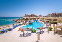Самолетна почивка в Египет! 7 нощувки на човек на база All inclusive в Sunny Days Palma De Mirette Resort & Spa 4*, Хургада, Червено Море с двупосочен чартърен полет от София - Снимка