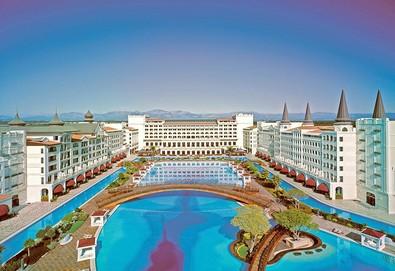 Самолетна почивка в Турция! 7 нощувки на човек на база Ultra all inclusive в Titanic Mardan Palace 5*, Лара, Турска ривиера с двупосочен чартърен полет от София - Снимка