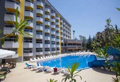 Самолетна почивка в Турция! 7 нощувки на човек на база All inclusive в Simply Fine Hotel 4*, Анталия, Турска ривиера с двупосочен чартърен полет от София - Снимка