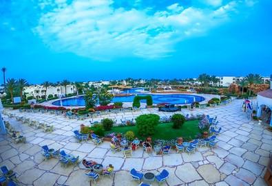 Самолетна почивка в Египет! 7 нощувки на човек на база All inclusive в Regency Plaza Aqua Park & Spa Resort 5*, Шарм Ел Шейх, Червено Море с двупосочен чартърен полет от София - Снимка