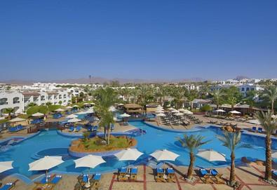 Самолетна почивка в Египет! 7 нощувки на човек на база All inclusive в Sharm Dreams Resort 5*, Шарм Ел Шейх, Червено Море с двупосочен чартърен полет от София - Снимка