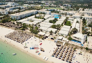 Самолетна почивка в Тунис! 7 нощувки на човек на база All inclusive в El Mouradi Club Kantaoui 4*, Хамамет, Североизточен Тунис с двупосочен чартърен полет от София - Снимка