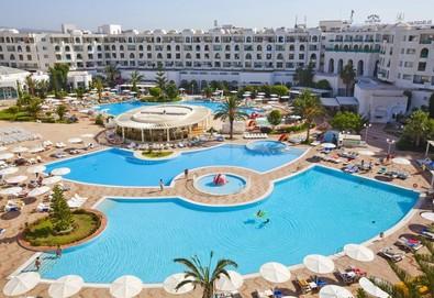 Самолетна почивка в Тунис! 7 нощувки на човек на база All inclusive в El Mouradi El Menzah 4*, Хамамет, Североизточен Тунис с двупосочен чартърен полет от София - Снимка