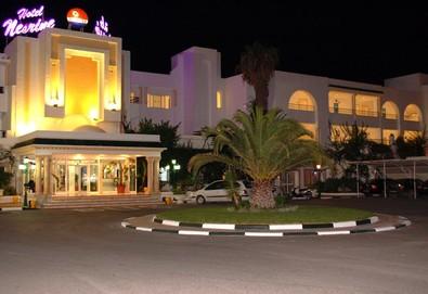 Самолетна почивка в Тунис! 7 нощувки на човек на база All inclusive в Hotel Nesrine 4*, Хамамет, Североизточен Тунис с двупосочен чартърен полет от София - Снимка