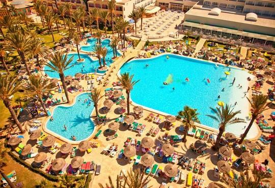 Houda Beach Golf & Aquapark 3* - снимка - 1