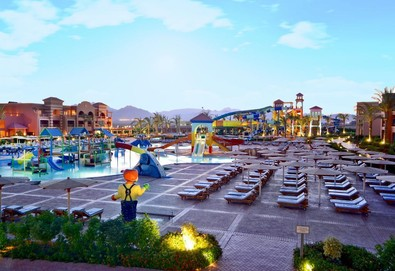 Самолетна почивка в Египет! 7 нощувки на човек на база All inclusive в Charmillion Club Aqua Park 5*, Шарм Ел Шейх, Червено Море с двупосочен чартърен полет от София - Снимка