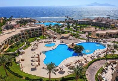 Самолетна почивка в Египет! 7 нощувки на човек на база All inclusive в Cleopatra Luxury Resort Sharm El Sheikh 5*, Шарм Ел Шейх, Червено Море с двупосочен чартърен полет от София - Снимка