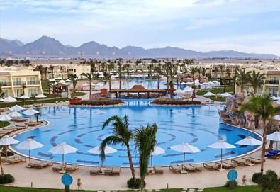 Самолетна почивка в Египет! 7 нощувки на човек на база All inclusive в Hilton Sharks Bay Resort 4*, Шарм Ел Шейх, Червено Море с двупосочен чартърен полет от София - Снимка