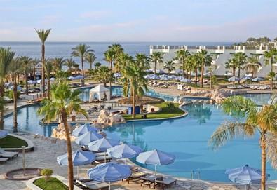 Самолетна почивка в Египет! 7 нощувки на човек на база All inclusive в Hilton Sharm Waterfalls Resort 5*, Шарм Ел Шейх, Червено Море с двупосочен чартърен полет от София - Снимка