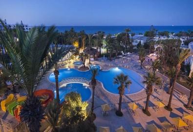 Самолетна почивка в Тунис! 7 нощувки на човек на база All inclusive в Hotel Marhaba 4*, Хамамет, Североизточен Тунис с двупосочен чартърен полет от София - Снимка