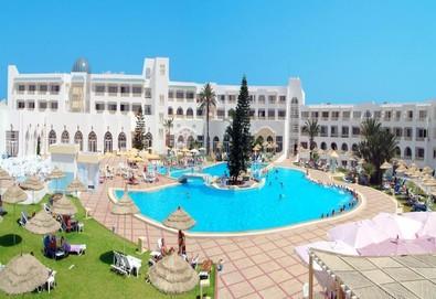 Самолетна почивка в Тунис! 7 нощувки на човек на база All inclusive в Hotel Liberty Resort 4*, Хамамет, Североизточен Тунис с двупосочен чартърен полет от София - Снимка