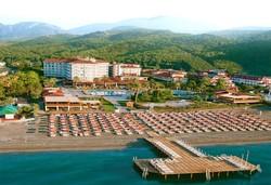 Нова Година 2020 в Турция със самолет! 4 нощувки на човек на база All inclusive в Akka Hotels Alinda 5*, Кемер, Турска ривиера с двупосочен чартърен полет от София - Снимка