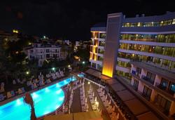 Нова Година 2020 в Турция със самолет! 4 нощувки на човек на база Ultra all inclusive в The Raga Side 5*, Сиде, Турска ривиера с двупосочен чартърен полет от Варна - Снимка
