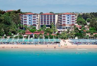 Самолетна почивка в Турция! 3 нощувки на човек на база All inclusive в Terrace Beach Resort 5*, Сиде, Турска ривиера с двупосочен чартърен полет от София - Снимка