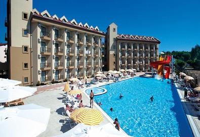 Самолетна почивка в Турция! 3 нощувки на човек на база Ultra all inclusive във Victory Resort 5*, Сиде, Турска ривиера с двупосочен чартърен полет от София - Снимка