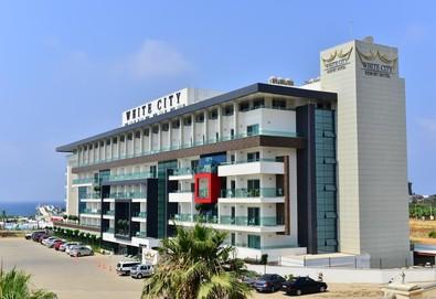 Самолетна почивка в Турция! 7 нощувки на човек на база All inclusive в White City Resort 5*, Анталия, Турска ривиера с двупосочен чартърен полет от София - Снимка