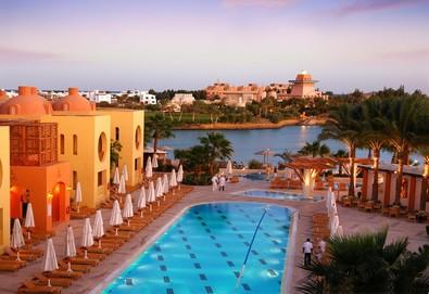 Самолетна почивка в Египет! 5 нощувки на човек на база All inclusive в Steigenberger Golf Resort 5*, Хургада, Червено Море с двупосочен чартърен полет от София - Снимка
