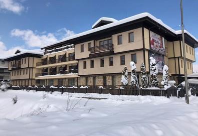 На ски през януари в Хотел Хермес 3*,Банско! 2 нощувки със закуски или закуски и вечери, транспорт от хотела до ски лифта, позлзване на зона за релакс и джакузи, безплатно за първо дете до 11.99 г.  - Снимка