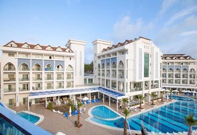 Самолетна почивка в Турция! 7 нощувки на човек на база All inclusive в Diamond Elite Hotel & Spa 5*, Сиде, Турска ривиера с двупосочен чартърен полет от София - Снимка