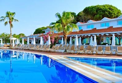 Самолетна почивка в Турция! 7 нощувки на човек на база All inclusive в Sentido Flora Garden Hotel 5*, Сиде, Турска ривиера с двупосочен чартърен полет от София - Снимка