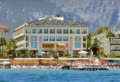 Самолетна почивка в Турция! 7 нощувки на човек на база All inclusive в Golden Lotus Hotel 4*, Кемер, Турска ривиера с двупосочен чартърен полет от София - Снимка