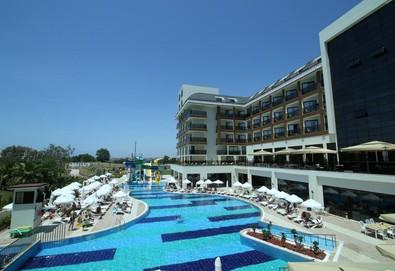 Самолетна почивка в Турция! 3 нощувки на човек на база All inclusive в Glamour Resort & Spa 5*, Сиде, Турска ривиера с двупосочен чартърен полет от София - Снимка