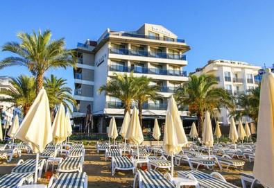 Самолетна почивка в Турция! 7 нощувки на човек на база Закуска в Aurasia Beach Hotel 3*, Мармарис, Егейска Турция с двупосочен чартърен полет от София - Снимка