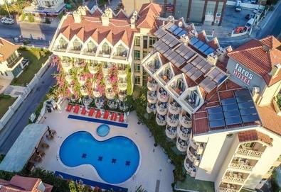 Самолетна почивка в Турция! 7 нощувки на човек на база All inclusive в Grand Faros Hotel 3*, Мармарис, Егейска Турция с двупосочен чартърен полет от София - Снимка