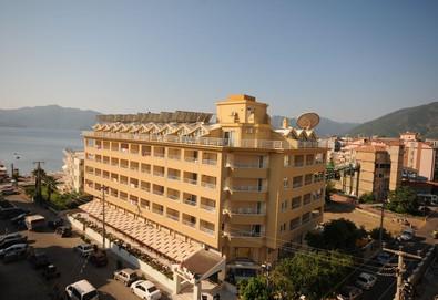Самолетна почивка в Турция! 7 нощувки на човек на база All inclusive в Mert Seaside Hotel 3*, Мармарис, Егейска Турция с двупосочен чартърен полет от София - Снимка