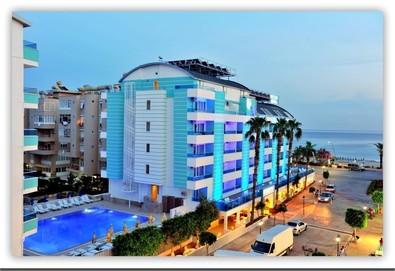 Самолетна почивка в Турция! 3 нощувки на човек на база All inclusive в Mesut Hotel 4*, Анталия, Турска ривиера с двупосочен чартърен полет от София - Снимка