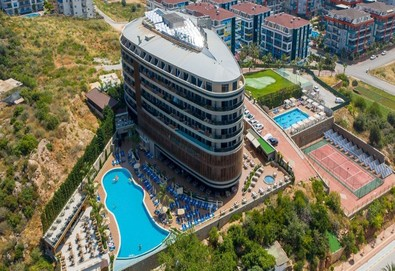 Самолетна почивка в Турция! 3 нощувки на човек на база Ultra all inclusive в Michell Hotel & Spa 5*, Анталия, Турска ривиера с двупосочен чартърен полет от София - Снимка
