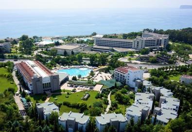 Самолетна почивка в Турция! 4 нощувки на човек на база All inclusive в Sherwood Greenwood Resort Hotel 4*, Кемер, Турска ривиера с двупосочен чартърен полет от София - Снимка