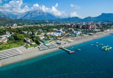 Самолетна почивка в Турция! 3 нощувки на човек на база All inclusive в Simena Hotel 5*, Кемер, Турска ривиера с двупосочен чартърен полет от София - Снимка