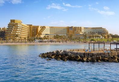 Самолетна почивка в Египет! 7 нощувки на човек на база All inclusive в Hilton Hurghada Plaza 5*, Хургада, Червено Море с двупосочен чартърен полет от София - Снимка