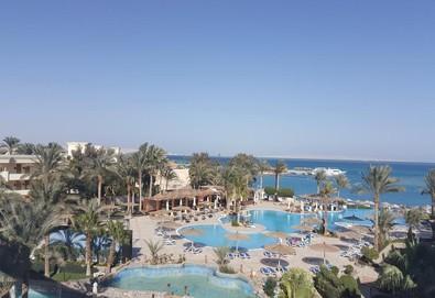 Самолетна почивка в Египет! 7 нощувки на човек на база All inclusive в Jaz Casa Del Mar Beach 5*, Хургада, Червено Море с двупосочен чартърен полет от София - Снимка