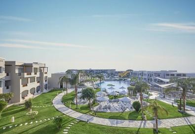 Самолетна почивка в Египет! 7 нощувки на човек на база All inclusive в Jaz Casa Del Mar Resort 4*, Хургада, Червено Море с двупосочен чартърен полет от София - Снимка