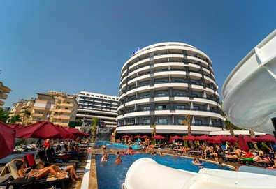 Самолетна почивка в Турция! 3 нощувки на човек на база Ultra all inclusive в Nox Inn Deluxe Hotel 5*, Анталия, Турска ривиера с двупосочен чартърен полет от София - Снимка