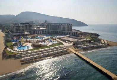 Самолетна почивка в Турция! 7 нощувки на човек на база All inclusive в Sunis Efes Royal Palace Resort Spa Hotel  0*, Кушадасъ, Егейска Турция с двупосочен чартърен полет от София - Снимка