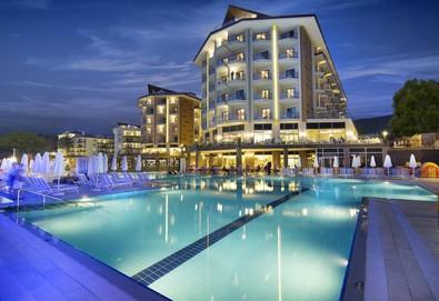 Самолетна почивка в Турция! 7 нощувки на човек на база All inclusive в Ramada Resort Kusadasi & Golf 0*, Кушадасъ, Егейска Турция с двупосочен чартърен полет от София - Снимка