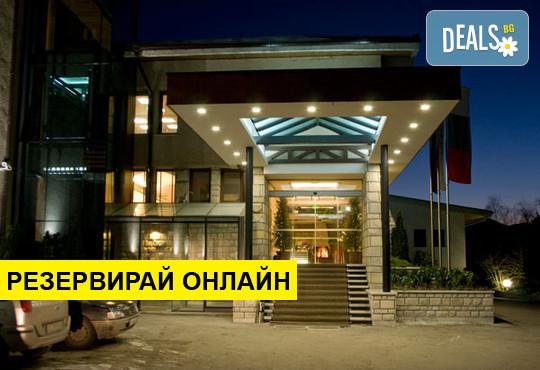 Нощувка на база BB в Хотел Велина 4*, Велинград, Родопи