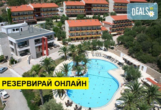 Нощувка на база HB,AI в Lagomandra Hotel & Spa 4*, Неос Мармарас, Халкидики