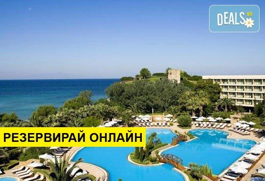 Нощувка на база HB,FB в Sani Beach Hotel & Spa 5*, Сани, Халкидики
