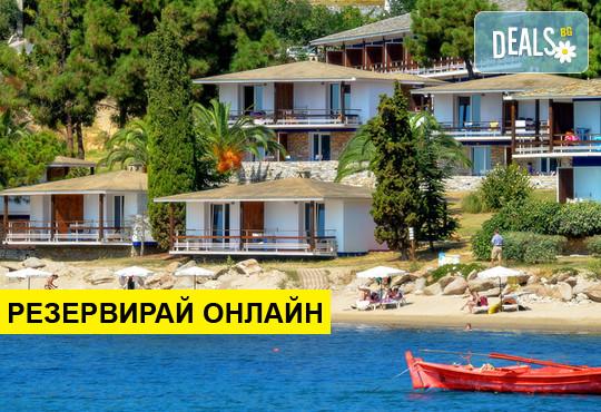 Нощувка на база HB,FB в Xenia Ouranoupolis Resort 4*, Уранополис, Халкидики